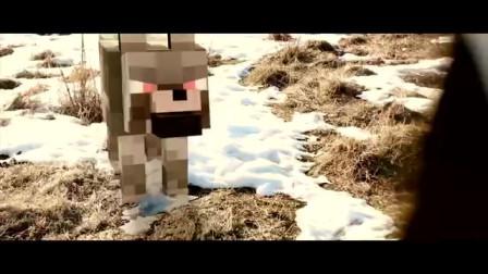 我的世界动画-史蒂夫和小狼来到现实之中-Sancho Animation