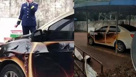D1资讯 第一季 南宁一小区停车棚失火 300辆电动车被烧毁