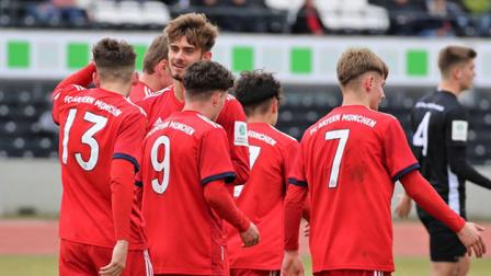 拜仁U17队4-0乌尔姆