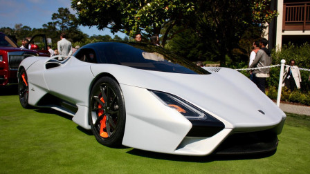 世界上最快跑车!不是布加迪威龙,而是这一辆福特?