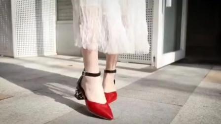6双舒适高跟鞋,约会利器!