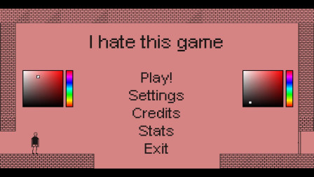 《I hate this game》对,我恨死这个游戏了