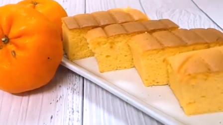 「烘焙教程」柑橘棉花蛋糕,软软的很清新