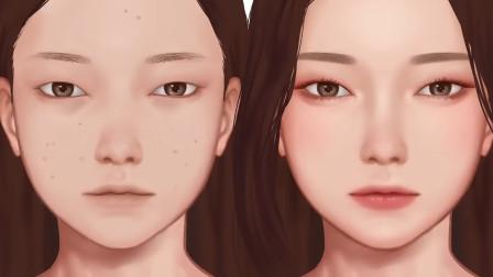 希望以后的化妆教程都如此清晰易懂!韩国小姐姐的桃花妆了解下
