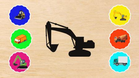 学习认识推土机、挖沟机等工程车机械,熊小仁识机械