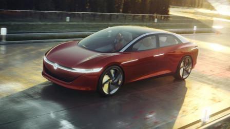 没有方向盘刹车油门,大众新款概念车,像张舒适大床,吊打特斯拉