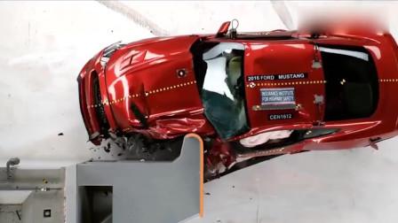 野马汽车撞击测试安全气囊对司机保护怎样