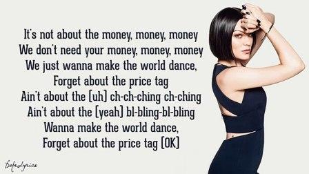#全民英语#歌词纯享版,重听#Jessie J#超经典《Price Tag》!