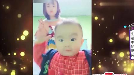 家庭幽默录像:这父亲没毛病,生孩果然是用来