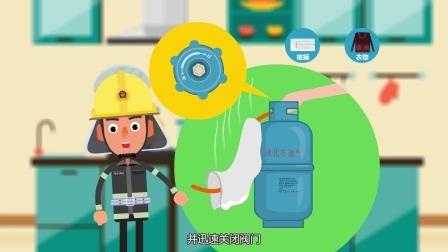 消防安全知识系列动画 - 家庭篇