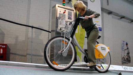 为自行车打造的电梯,助你轻松上坡,每小时最多能送180人