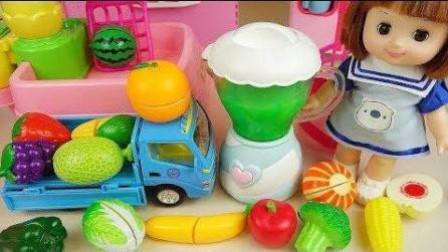 小猪佩奇和芭比娃娃水果机玩具