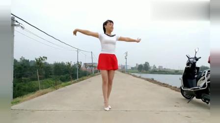 广场舞《桃花运》经典老歌 好听好看 华美舞动