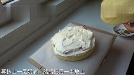 过生日蛋糕不用买,阿源教你做,步骤简单好看又好吃,孩子超喜欢
