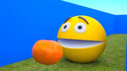 吃菠萝遇到红色吃豆人!吃豆人游戏