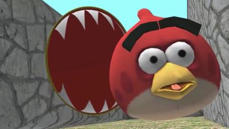 吃豆人之愤怒的小鸟!游戏