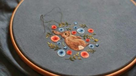 刺繡:萬能的補洞針法,現在沒幾個人會了