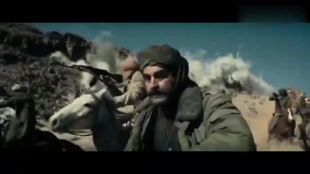 好莱坞最新战争片美军骑兵对塔利班坦克发起冲锋精彩!