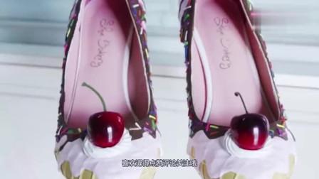 """老外脑洞大开,设计一款鞋子把""""奶油蛋糕""""穿在脚下,仙女味十足!"""