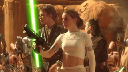 几分钟看完科幻片《星球大战前传2克隆人的进攻》,银河共和国组建克隆军队抵抗黑暗