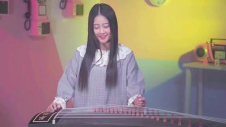 美女演绎乐器版《生僻字》,古风韵律彰显我中