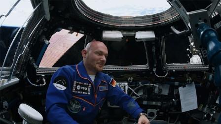 """德国宇航员国际空间站中给子孙留言,想对他们说""""对不起"""""""