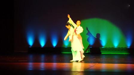 古典双人舞《梁祝》舞蹈视频 意境画风引人入胜