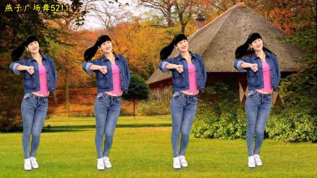 燕子广场舞《咚咚锵那个天灵灵》幽默风趣 流行音乐 演唱:张冬玲 简单现代舞