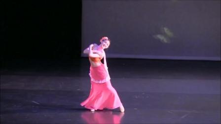 古典舞独舞《花儿》少数民族傣族舞蹈视频