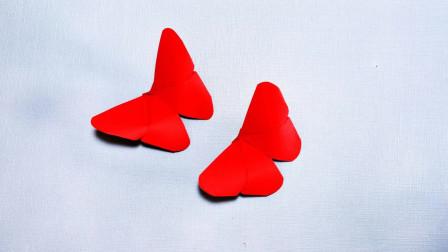 简单又漂亮的蝴蝶怎么折,这样折才漂亮,DIY手工制作