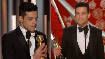 实至名归!拉米凭借《波西米亚狂想曲》获奥斯卡及金球奖最佳男主