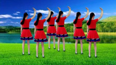 气质美女广场舞《你不来我不老》甜蜜对唱情歌,好听好看又好学!