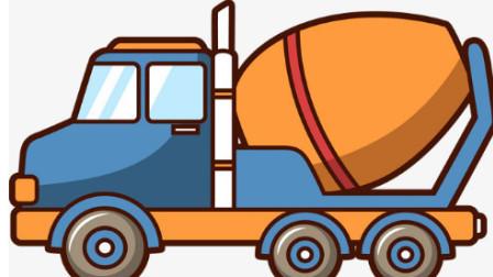 强大的工程车 大卡车、铲车、吊车、挖掘机工作动画片