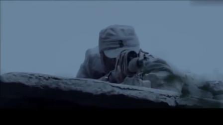 八路军狙击手真厉害,鬼子向战士扔来手雷,战士直接在空中打爆