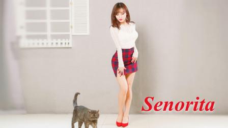 不得不说,这裙子是真显身材!(G)I-DLE热舞《senorita》
