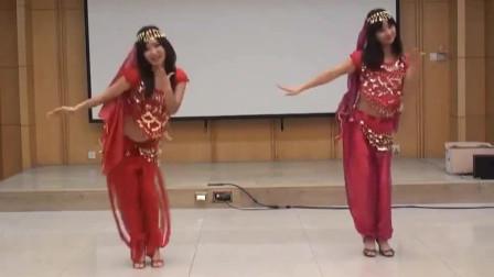 肚皮舞:印度舞娘热舞,简单好学,快来学起来!