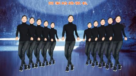 一首由龙梅子、老猫演唱的《都说》广场舞简单好学,初级32步!
