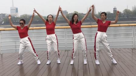 新潮步子舞《好嗨哟》,简单时尚又好学,不要错过哦