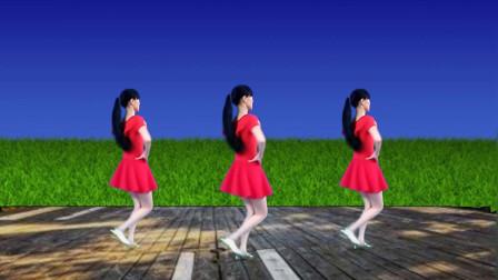 16步入门广场舞《忘不了的温柔》歌甜舞美,好听更好看!