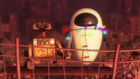 《瓦力》未来世界污染严重,地球被垃圾覆盖只剩下一个破旧机器人
