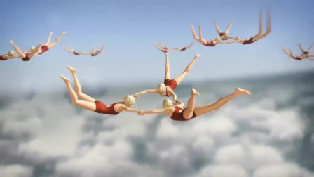 创意幽默动画,云端跳水姿势优美太有质感了!