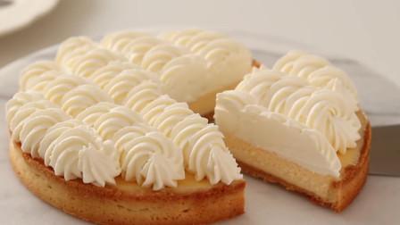 「烘焙教程」甜品双层芝士蛋糕,入口即化的口感值得拥有