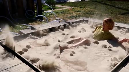 """最奇葩的游泳池,不仅会冒""""气泡"""",人跳进去衣服都湿不了"""