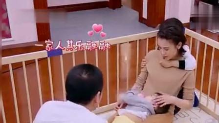 《妈妈是超人》杨子黄圣依罕见秀恩爱,一家四口同框幸福!