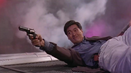 辣手神探:趁周润发救人之际,开枪射,就是准头不太行啊