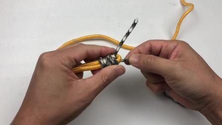 钓鱼人常用这两种绳头对接结,越拉越紧绝对不会开扣、不会跑鱼