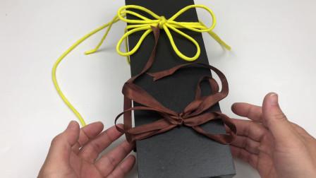 蝴蝶结要这样打,难怪以前编织的双蝴蝶结都不好看