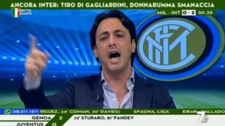 Milan - Inter 2-3 Tramontana si esalta e sorpassa! !