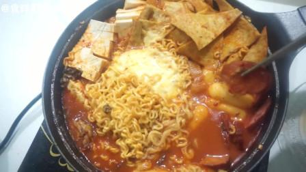 【台风天的美食-芝士年糕火锅】 台风天也不要忘了好好吃饭哦