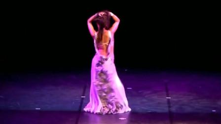 肚皮舞:世界肚皮舞冠军西蒙娜,绚丽的舞姿,跳起来真是太美了!